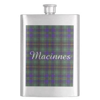 Macinnesの一族の格子縞のスコットランド人のタータンチェック フラスク
