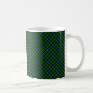 MacIntyreの一族のタータンチェックのスコットランド人によって設計されているプリント コーヒーマグカップ