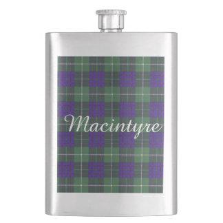 Macintyreの一族の格子縞のスコットランド人のタータンチェック フラスク