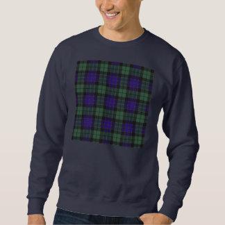 Mackayの一族の格子縞のスコットランド人のタータンチェック スウェットシャツ