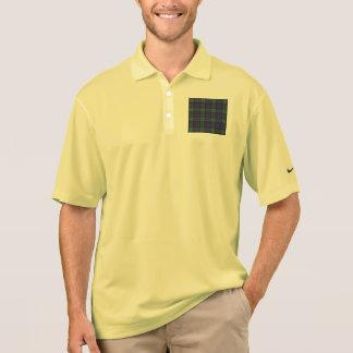 Mackayの一族の格子縞のスコットランド人のタータンチェック ポロシャツ