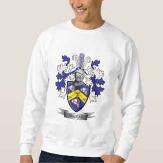 MacKayの家紋の紋章付き外衣 スウェットシャツ