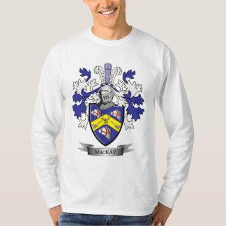 MacKayの家紋の紋章付き外衣 Tシャツ