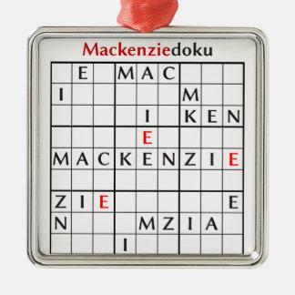 mackenziedoku メタルオーナメント
