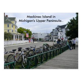 Mackinacの島からの挨拶。 ポストカード
