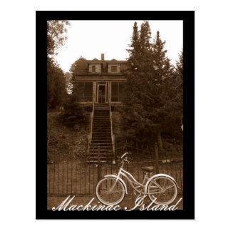 Mackinacの島のコテージ ポストカード