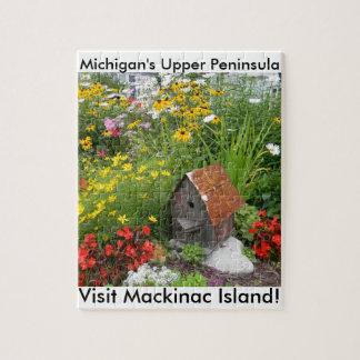 Mackinacの島の花園 ジグソーパズル