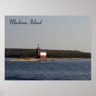 Mackinacの島シリーズ ポスター