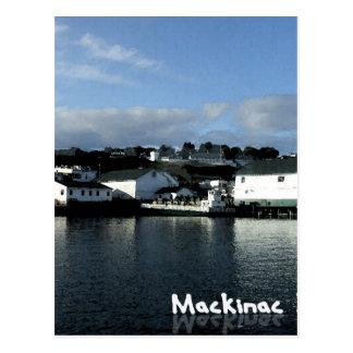 mackinacの島 ポストカード