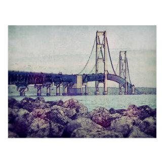 Mackinacの海峡 ポストカード
