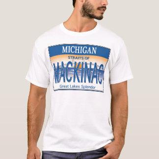 Mackinac免許証 Tシャツ