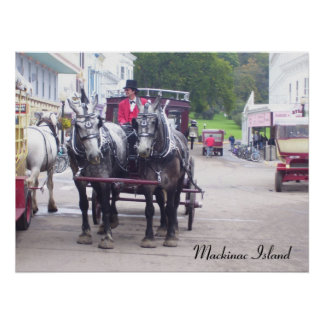 Mackinawの島シリーズ ポスター