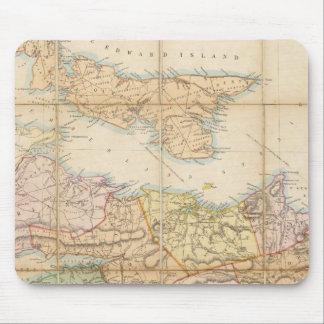 Mackinlayのノバスコシアの地域の地図 マウスパッド