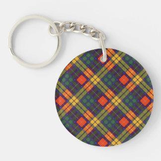 MacKinleyの一族の格子縞のスコットランドのキルトのタータンチェック キーホルダー