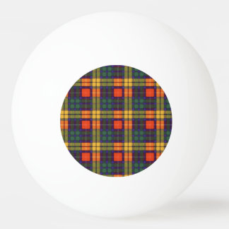MacKinleyの一族の格子縞のスコットランドのキルトのタータンチェック 卓球ボール