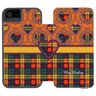 MacKinleyの一族の格子縞のスコットランドのキルトのタータンチェック iPhone SE/5/5sウォレットケース