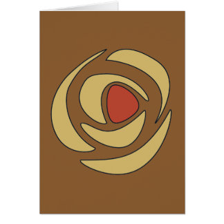 Mackinrosesの~の独身のなバラ カード