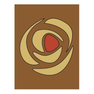 Mackinrosesの~の独身のなバラ ポストカード