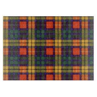 MacLeaの一族の格子縞のスコットランドのキルトのタータンチェック カッティングボード