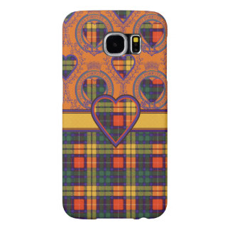 MacLeaの一族の格子縞のスコットランドのキルトのタータンチェック Samsung Galaxy S6 ケース