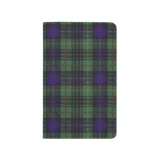 MacLoyの一族の格子縞のスコットランドのキルトのタータンチェック ポケットジャーナル