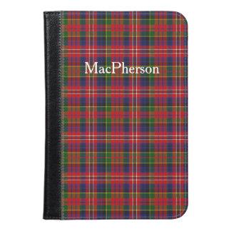 MacPhersonのタータンチェック格子縞のiPad Miniのフォリオ iPad Miniケース