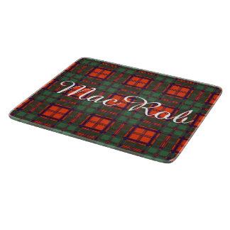 MacRobの一族の格子縞のスコットランドのキルトのタータンチェック カッティングボード