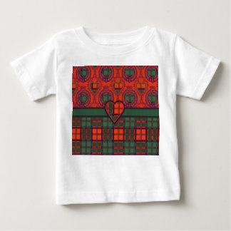MacRobの一族の格子縞のスコットランドのキルトのタータンチェック ベビーTシャツ