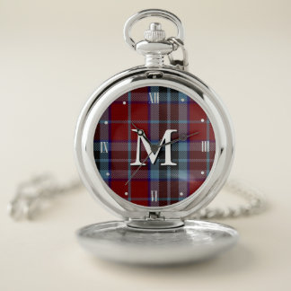 MacTavish Tartan Plaid Pocket Watch ポケットウォッチ