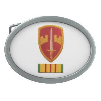 MACVベトナムのベルトの留め金 卵形バックル