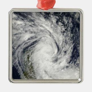 Madagascに陸上来る熱帯嵐のヒスイ メタルオーナメント