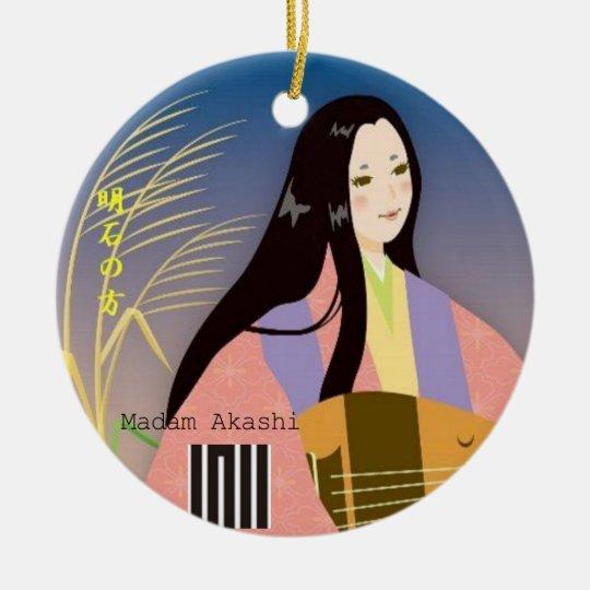 Madam Akashi   from 'The Tales of Genji' セラミックオーナメント