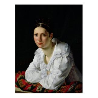 MadamaクロウドMarie Dubufe 1818年 ポストカード