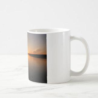 Madawaska湖の日没メイン コーヒーマグカップ