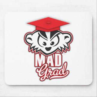 MadBadgerの不機嫌の卒業生 マウスパッド