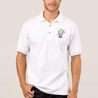MADDIジャージーのポロシャツモンスター ポロシャツ