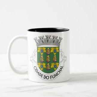 Madeira*の頂上、マデイラのコーヒー・マグ ツートーンマグカップ