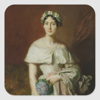 Mademoiselle Marieテレースde Cabarrus 1848年 スクエアシール