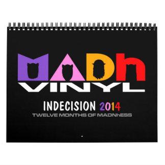MADhのビニール2014のカレンダー カレンダー