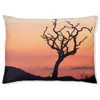 Madikwe上の日没 ペットベッド