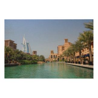 Madinat Jumeirah、ドバイの眺め ウッドウォールアート