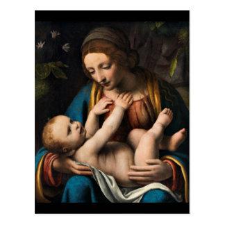 Madonna med  Kristusbarnet ポストカード