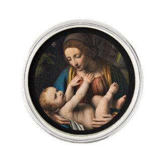 Madonna med  Kristusbarnet ラペルピン