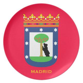 MADRID*のコレクタ板 プレート