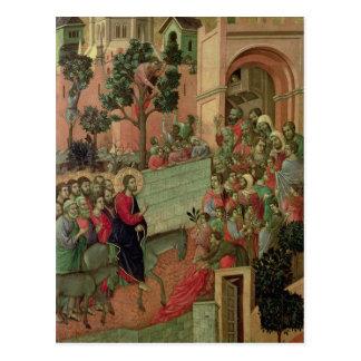 Maesta: エルサレム1308-11年への記入項目 ポストカード