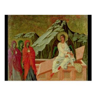 Maesta: キリストの墓の3 Maries ポストカード