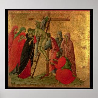Maesta: 十字からの降下、1308-11年 ポスター