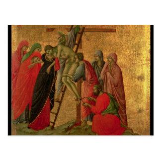 Maesta: 十字からの降下、1308-11年 ポストカード