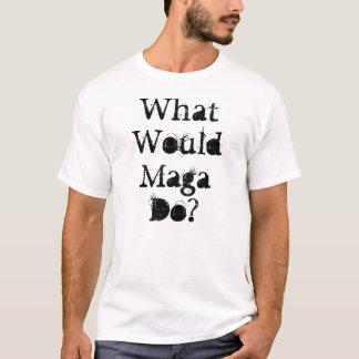 Magaは何をしますか。 Tシャツ