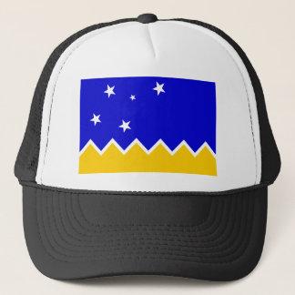 Magallanesのチリ、南極大陸の旗 キャップ